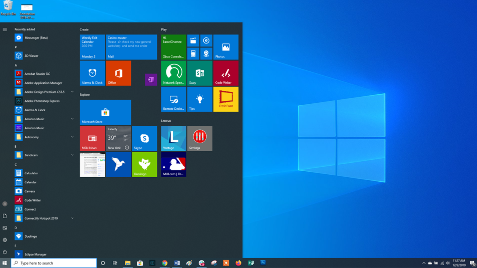 how to activate settings windows 10