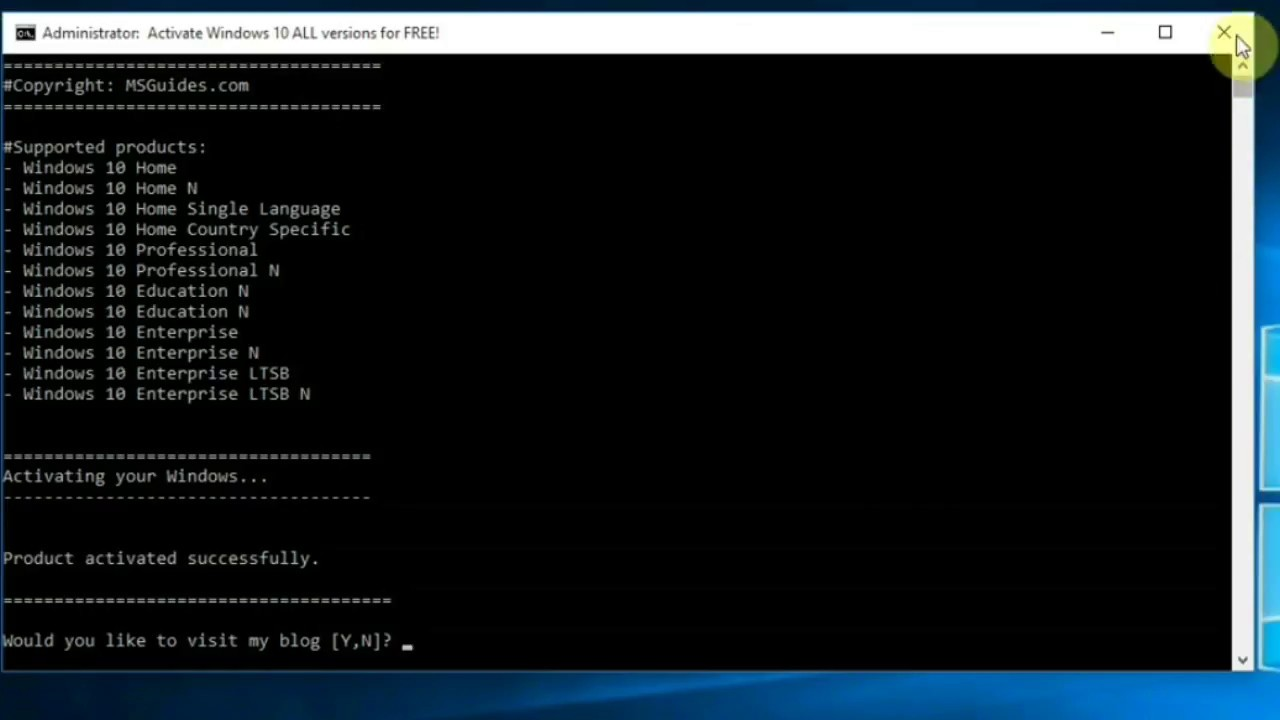 how to activate windows 10 using kms and cmd 2020